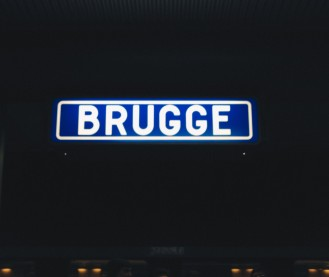 Brugge signboard