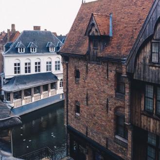The view from Bourgoensch hof