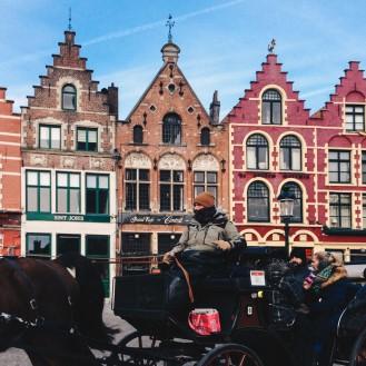 A phaeton in Brugge