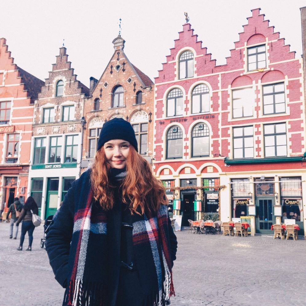 A red head in Brugge