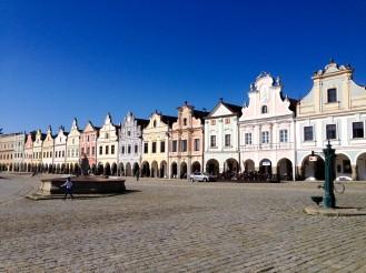 Main square of Telč
