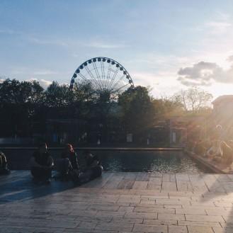 Budapest Eye - A ferris wheel on Erzsebet Square