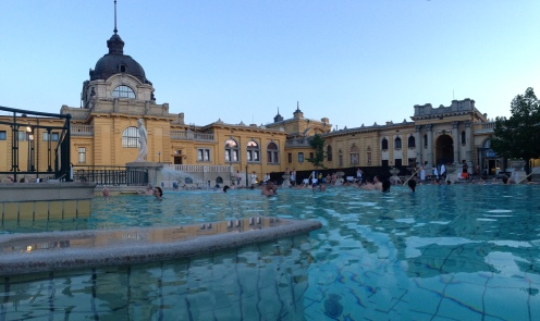 Szechenyi Thermal Baths in Budapest